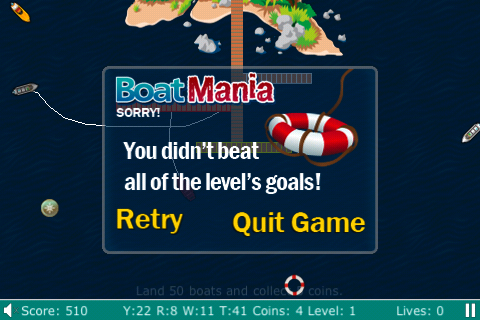 Screenshot Boat-O-Mania